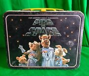 The Muppets Pigs In Space Metal Lunchbox Vintage Lunch Box 1977 Jim Henson