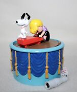 """New 2019 Dept 56 Peanuts Village Animated Accessories """"snoopy Dancing"""