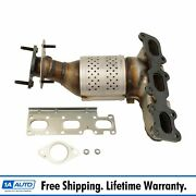 Exhaust Manifold With Catalytic Converter Gasket And Hardware Lh For Ford Lincoln