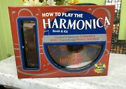 Nib, How To Play Harmonica With Music Cd And Book