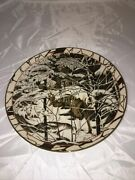 Bradford Exchange Collector Plate On Eagleand039s Wings Diana Casey Silent Journey