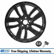 Oem Alloy Rim Wheel With Hub Cap And Tpms Black Finish 20 Inch For Honda Pilot New
