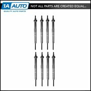 Ac Delco 9g Glow Plug Set Of 8 Kit For Chevy Gmc Pickup Truck V8 Gm 6.6 Diesel
