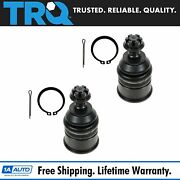 Trq Lower Ball Joint Pair For Civic Crx Prelude Integra Accord
