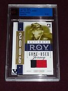 14-15 Itg Vault Sidney Crosby R.o.y. Gold 1/1 Rc 2clr Jersey From 05-06 Itg 1/1