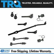 Trq 10 Pc Kit Inner Outer Tie Rod Upper Lower Ball Joint Sway Bar Link For Xj Mj