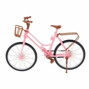 Doll Houses Decorations Miniature Bicycle With Stand Model Plastic Materials New