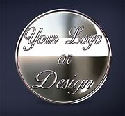 Laser Engraved 1oz Fine 999 Silver Logo/photo Coin. One Side Image/one Side Text