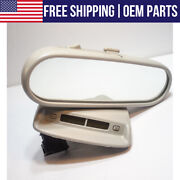 Oem Interior Rear View Mirror Light And Digital Clock Display For 98-03 Vw Beetle