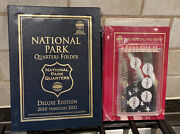 Coin Collecting Albums Red Book And Year Set Case For State Quarters