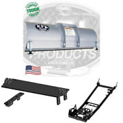 Kfi 54 Snow Plow Kit Yamaha 01 And Older 600 Grizzly Blade Push Tube Mid Mount