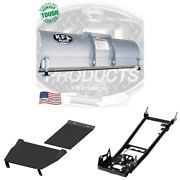 Kfi 54 Snow Plow Kit 05 And Older 280 King Quad Blade Push Tube Mid Mount For Suz