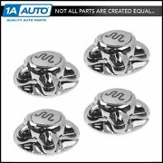 Oem Wheel Hub Center Cap Cover Chrome Set Of 4 For F150 Truck King Ranch New