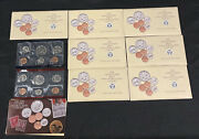 7 United States Government Issued Mint Sets Of Year 1990 All For 1 Money
