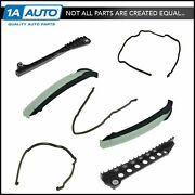Oem Timing Chain Guide And Front Cover Gasket Kit For 05-13 Ford Lincoln 5.4l 6.8l