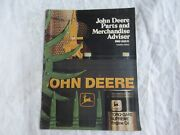 1980 John Deere Tractor Parts Merchandise Catalog Brochure W/ Jd Jacket Sweats