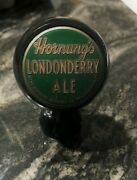 Very Rare Hornung's Londonderry Ale Ball Beer Tap Knob Hornung Brewing Phila Pa