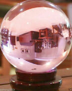 50-120mm Natural Pink Sphere Large Crystal Ball Healing Stone