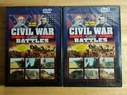 Civil War Battles Dvd's. The Union Restored And The Terrible Swift Sword