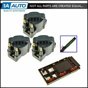 Ignition Control Module Coil Kit Set For Buick Chevy Olds Pontiac Delco Style