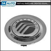 Oem Wheel Hub Center Cap With Logo Chrome Lh Rh Front And Rear For Grand Marquis