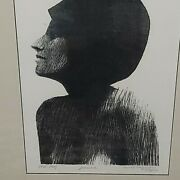 Rare 1964 Signed Harry Borgman Jeanne Artist Proof Drawing