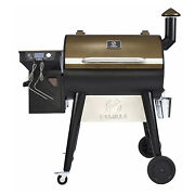 Z Grills Zpg-7002f 8 In 1 Bbq Pellet Grill Smoker With Weather Cover Bronze