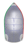 Spinnaker Symmetrical Luffs 13and039-4foot 10and039 0.75 Oz. White Killing One Design