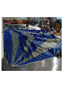 Spinnaker Asymmetrical Luff 65.62and039leech 57.09and039 Foot 41and039 0.75 Oz Blue/white