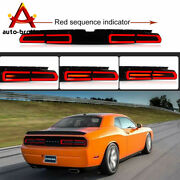 Led Tail Light Lamp Sequential Indicator For 2008-2014 Dodge Challenger Smoke