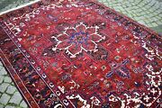 Large Caucasian Rug 79'' X 119'' Vintage Large Size Hand Knotted Caucasian Rug