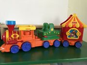 Fisher Price Little People Amazing Animal Big Top Circus Friends Train