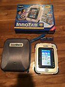 Vtech Innotab Electonic Kids Tablet, Case And 2 Games