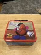1996 Disney Mr. Potato Head Fossil Limited Edition Watch Toy Story Lunchbox New