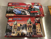 Lego Harry Potter Lot 4867 And 4841 Hogwarts And Express Train - Incomplete Sets