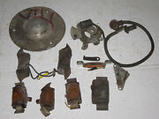 Vintage Villiers Ignition Magneto Misc. Parts Lot British Motorcycle