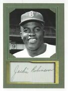 Jackie Robinson - Aceo Baseball Card - Autograph Repro - Mint Condition