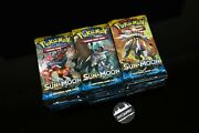 Brand New 2020 Pokemon Sun And Moon Lot Of 36 Pack Loose Booster Box