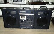 National Rx-a2 Stereo Boombox