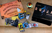 Miniature Ouija Board Set With Tarot Cards And Crystal Ball Board And Planchette New
