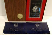 1971-s Eisenhower Silver Dollar Proof And 2 Uncirculated 1971-s Sets Us Mint Mg