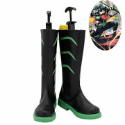 Red Robin Shoes Cosplay Tim Drake Young Justice Men Boots Free Shipping