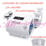 5in1 Cavitation 40k Rf Cooling Freeze Removal Fat Cellulite Body Slimming Device