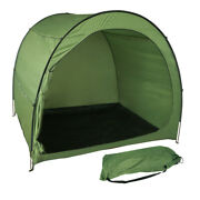 Toys Bike Storage Tent Tall Space Saving Waterproof Shed Camping Outdoor Green