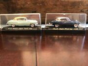 2 Solido Diecast Model Car Buick Super Hard-top 143 Scale 4523 Case France