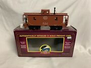 Mth Premier New York Central N6b Wood Side Caboose 20-91120 For Nyc Steam Engine
