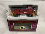 ✅mth Premier New York Central Steel Caboose 20-91125 For Nyc Diesel Steam Engine