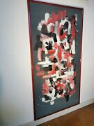Acrylic Painting On Wood Contemporary Art - Dimension Colorandeacute By P.vernet