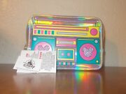 Disney Parks Mickey Mouse Retro Silver Fanny Pack Shoulder Bag Kids Adult Nwt