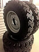4 New Skid Steer Bias Mud Winter 7.50 16 Tires Replaces 10 16.5 Bolt On 8 On 8